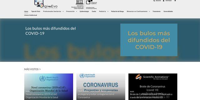 Información para combatir el coronavirus y las fake news