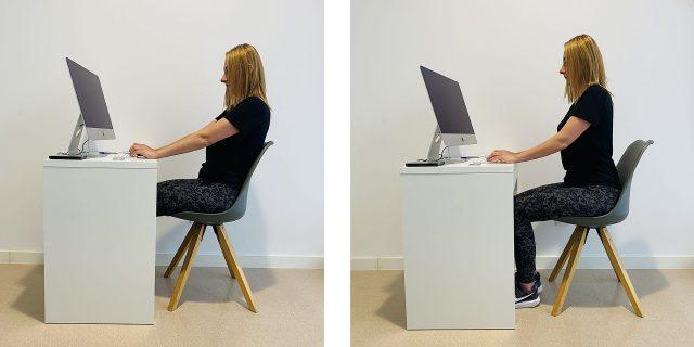 Refuerza los músculos de tu espalda cuando estés sentado