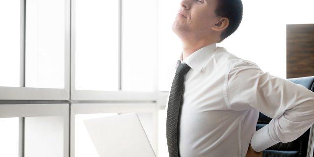 La ergonomía y el dolor de espalda