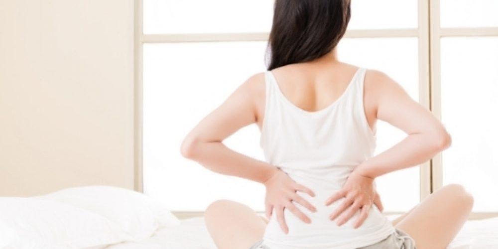 La lumbalgia durante la menstruación