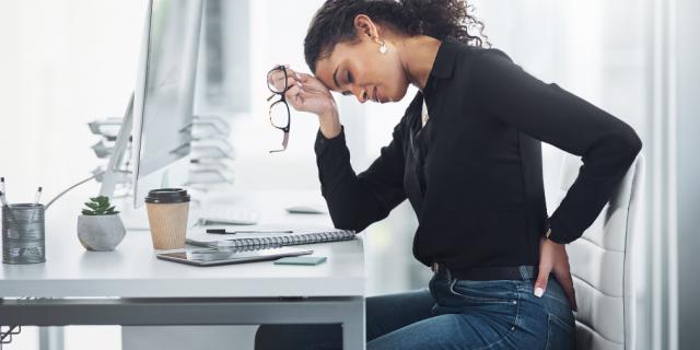 Estrés y dolor de espalda