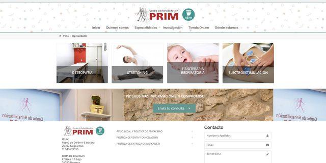 Centro de Rehabilitación Prim, recomendado por la Escuela Española de la Espalda