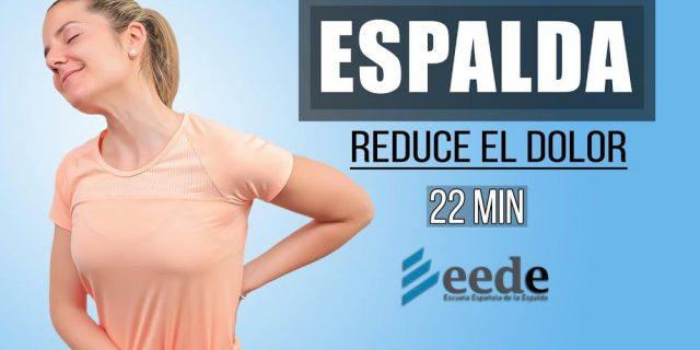 Rutina de ejercicios para reducir el dolor de espalda