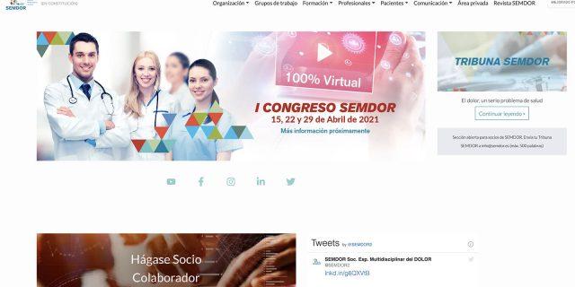 Mario Gestoso forma parte de la Sociedad Española Multidisciplinar del Dolor