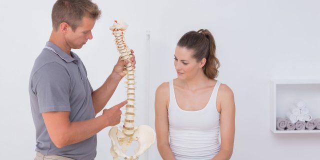 ¿Qué es una fisura discal en la columna vertebral?
